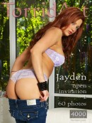 Jayden in Open Invitation 1 gallery from TORRIDART by Ryder Aedan Perry