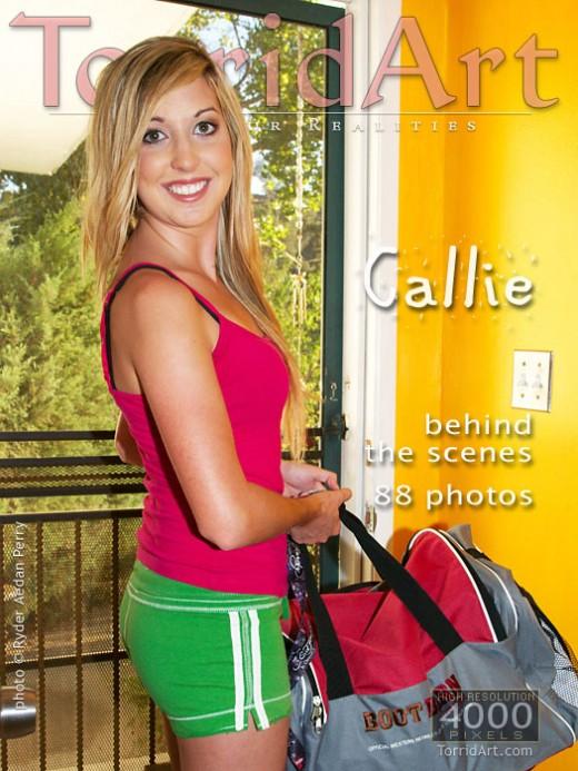 Callie - `Behind The Scenes` - by Ryder Aedan Perry for TORRIDART