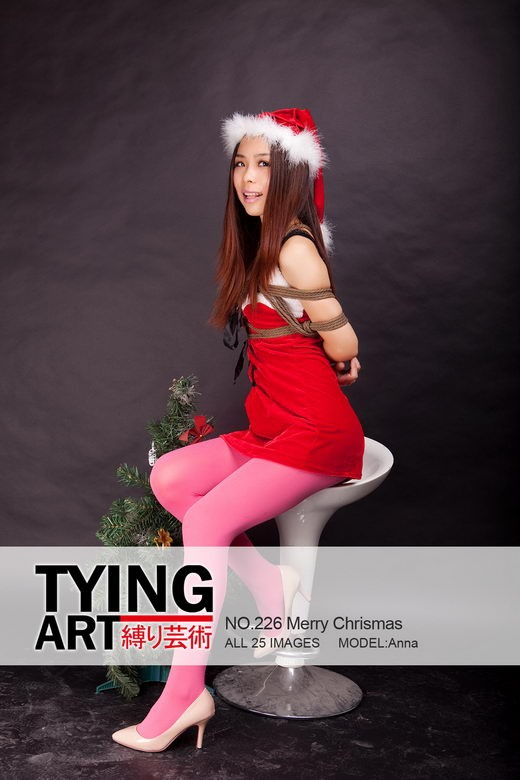 Anna - `226 - Merry Christmas` - for TYINGART