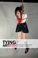 163 - Glasses School Girl 1