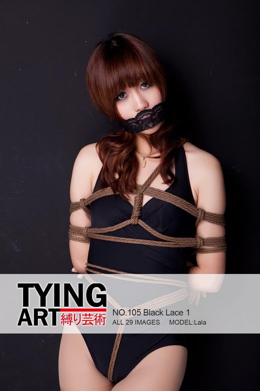 Lala - `105 - Black Lace 1` - for TYINGART