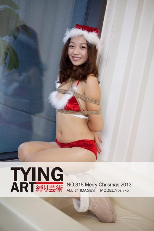 Yoshiko - `318 - Merry Christmas 2013` - for TYINGART