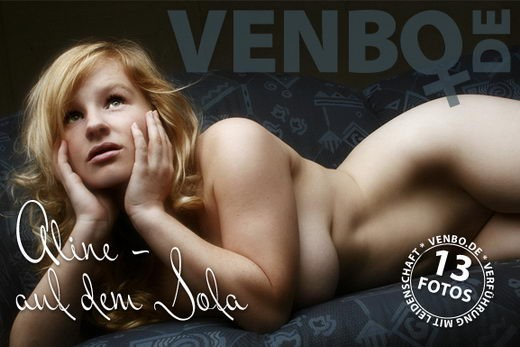 Aline - `Auf Dem Sofa` - by Tom Hiller for VENBO