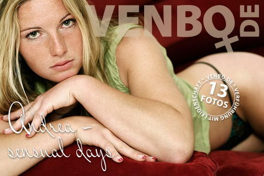 Andrea - `Sensual Days` - by Tom Hiller for VENBO