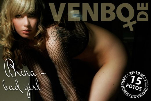 Brina - `Bad Girl` - by Tom Hiller for VENBO