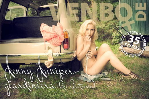 Jenny Juniper - `Giardiniera` - by Tom Hiller for VENBO