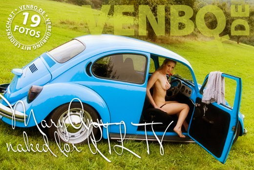 Maryann - `Naked For RTL TV` - by Tom Hiller for VENBO