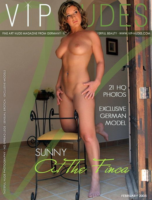 Sunny - `At the Finca` - for VIPNUDES