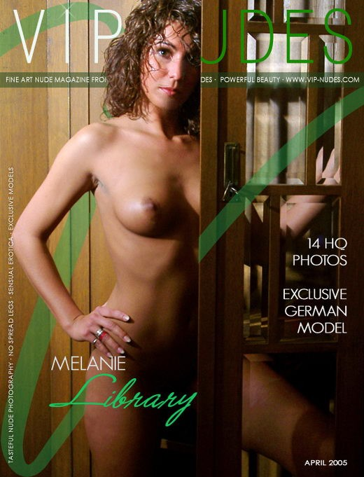 Melanie - `Nude Library` - for VIPNUDES