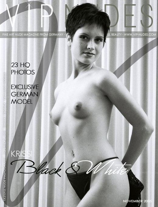 Krissi - `Black & White` - for VIPNUDES
