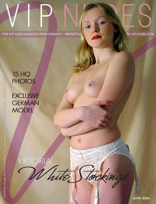 Viktoria - `White Stockings` - for VIPNUDES