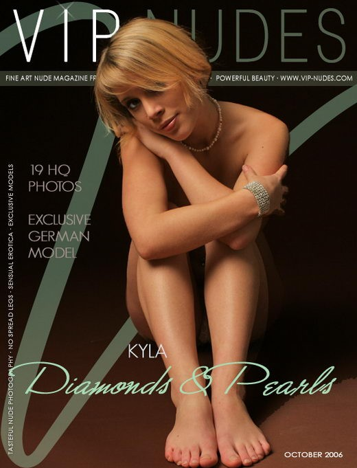 Kyla - `Diamonds & Pearls` - for VIPNUDES