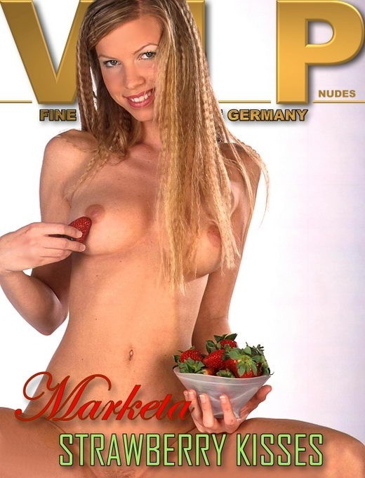 Marketa - `Strawberry Kisses` - for VIPNUDES