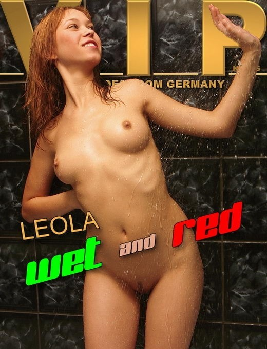 Leola - `Wet and Red` - for VIPNUDES