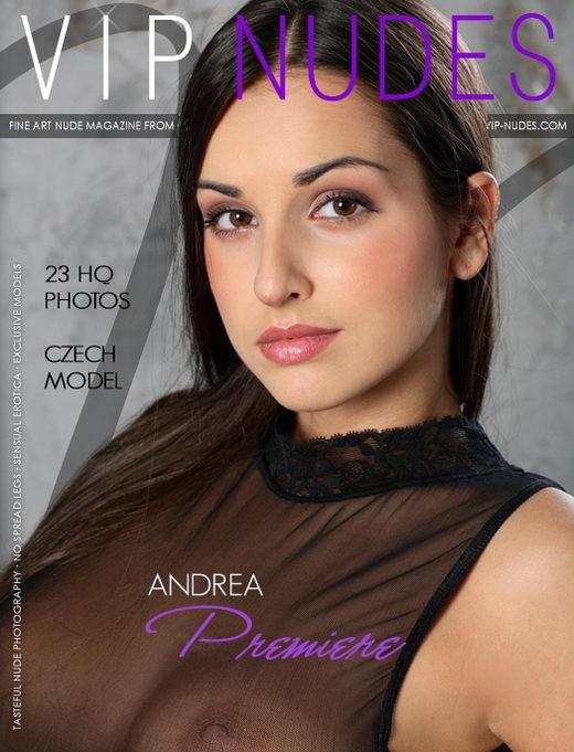 Andrea - `Premiere` - for VIPNUDES