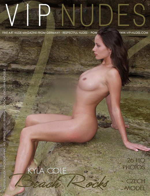 Kyla Cole - `Beach Rocks` - for VIPNUDES
