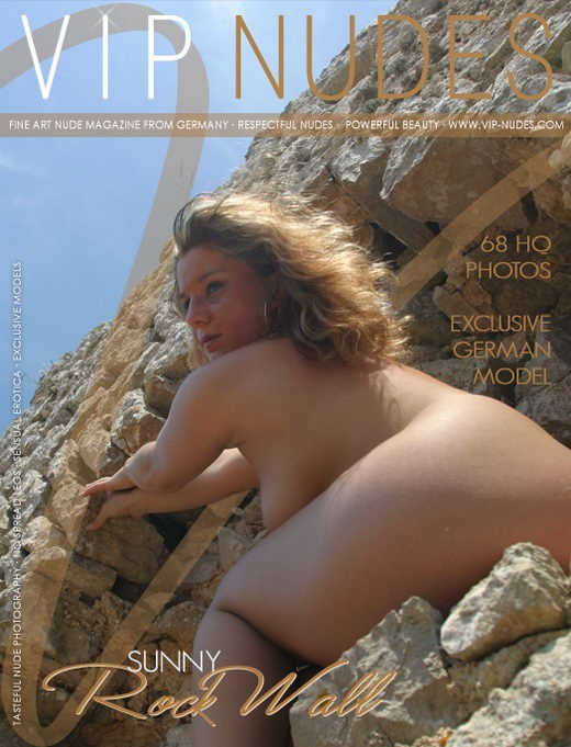 Sunny - `Rock Wall` - for VIPNUDES