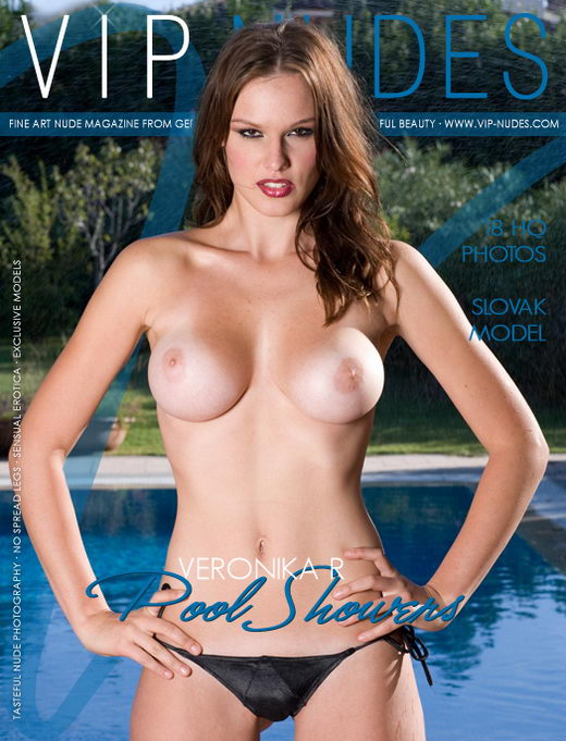 Veronika R - `Pool Showers` - for VIPNUDES
