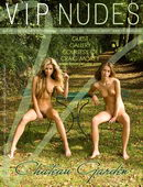 Nela & Mia in Chateau Garden gallery from VIPNUDES by Craig Morey