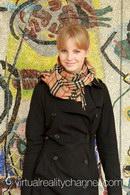 Veronika - Before Shooting In Museum