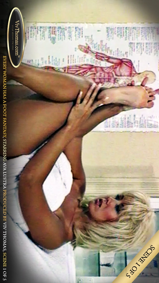 Ava Lustra - `Every woman has a foot fantasy Part 1` - by Viv Thomas for VIVTHOMAS VIDEO