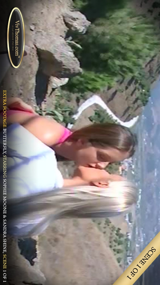 Sandra Shine & Sophie Moon - `Butterfly Extra footage Extras 2` - by Viv Thomas for VIVTHOMAS VIDEO