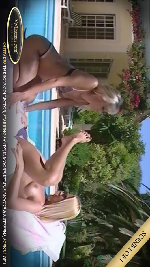 Kathy Moore & Kylie A & Sandy A & Sophie Moon & Stella Stevens - `Sole Collector outtakes Extras 4` - by Viv Thomas for VIVTHOMAS VIDEO