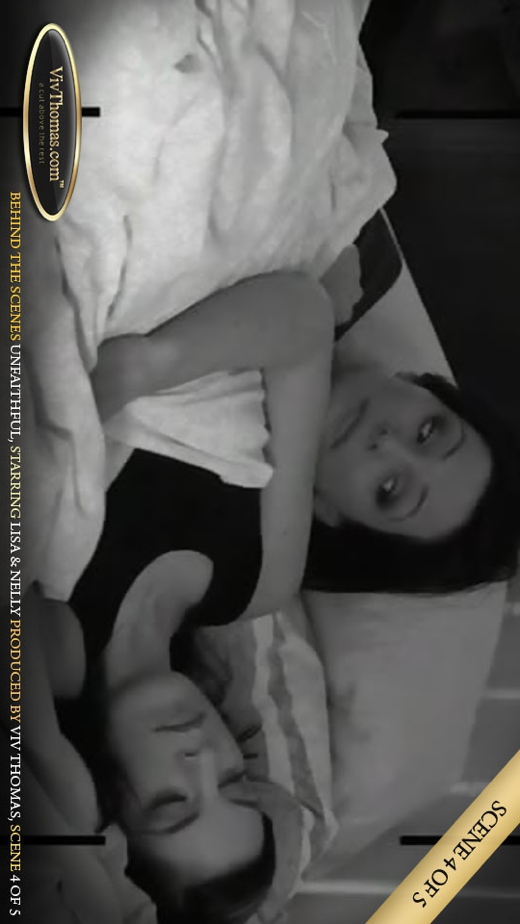 Lisa C & Nella A - `Unfaithful 1 - Behind the Scenes Extras 4` - by Viv Thomas for VIVTHOMAS VIDEO
