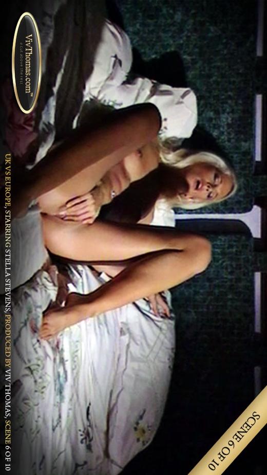 Stella Stevens - `UK vs Europe Part 6` - by Viv Thomas for VIVTHOMAS VIDEO