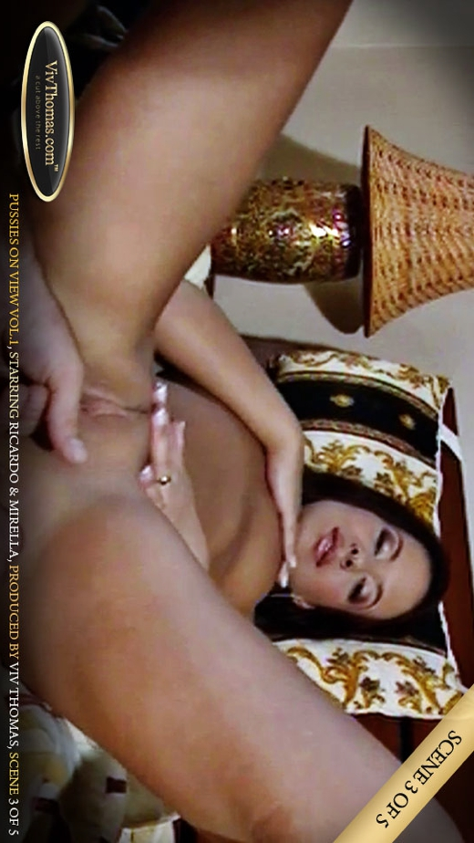 Mirella A - `Pussies On View Vol 1 Part 3` - by Viv Thomas for VIVTHOMAS VIDEO