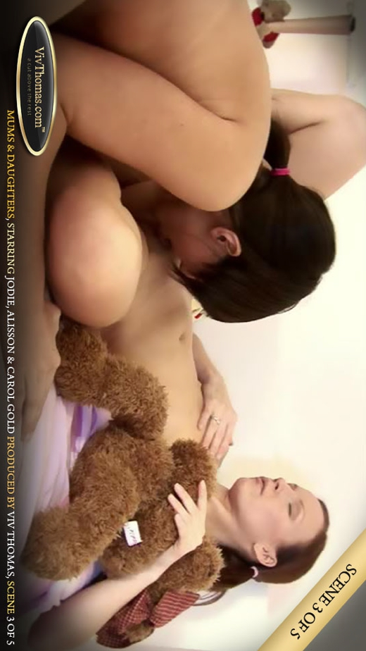 Alisson A & Jodie A - `Mums & Daughters Part 3` - by Viv Thomas for VIVTHOMAS VIDEO
