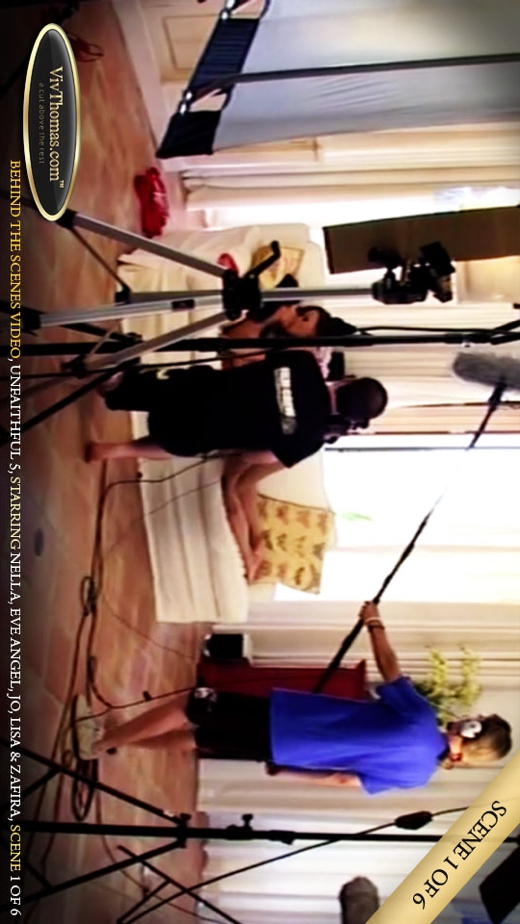 Eve Angel & Jo & Lisa C & Nella A & Zafira A - `Unfaithful 5 Extras 1` - by Viv Thomas for VIVTHOMAS VIDEO