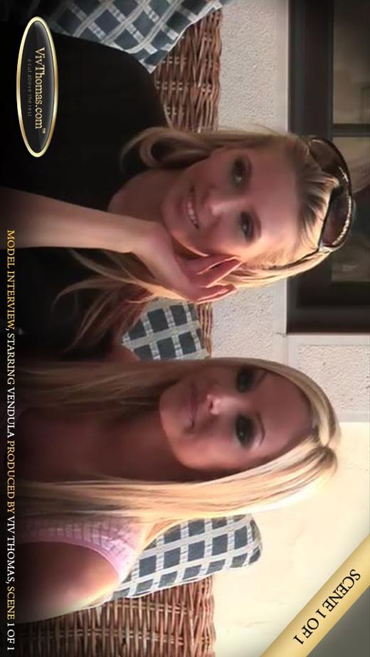 Vendula A - `Vendula's Interview` - by Viv Thomas for VIVTHOMAS VIDEO