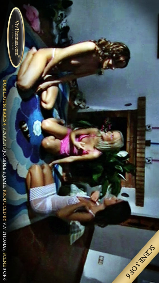 Ginie A & Jamie A & Jo - `Bubblegum Babes 4 Part 3` - by Viv Thomas for VIVTHOMAS VIDEO