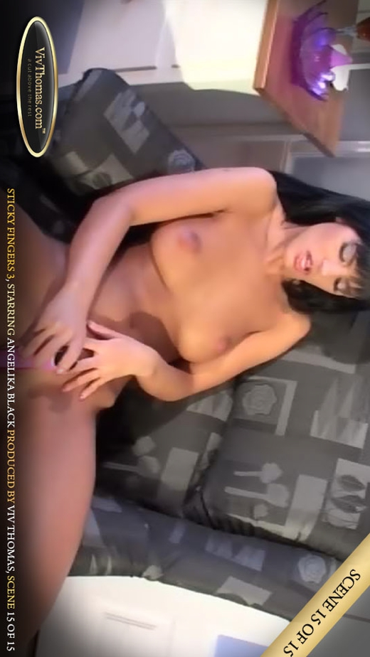 Angelika Black - `Sticky Fingers 3 Part 15` - by Viv Thomas for VIVTHOMAS VIDEO