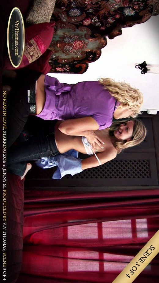 Jenny M & Zoe B - `No Fear in Love Part 3` - by Viv Thomas for VIVTHOMAS VIDEO