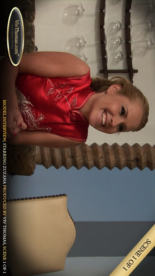 Zuzana B - `Zuzana interview` - by Viv Thomas for VIVTHOMAS VIDEO