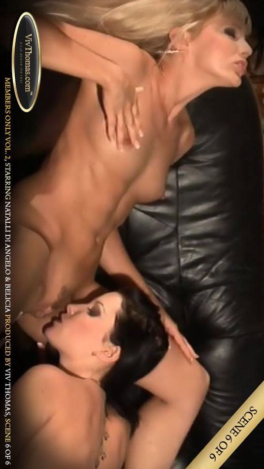 Belicia A & Natalli DeAngelo - `Members Only Vol 2 Part 6` - by Viv Thomas for VIVTHOMAS VIDEO