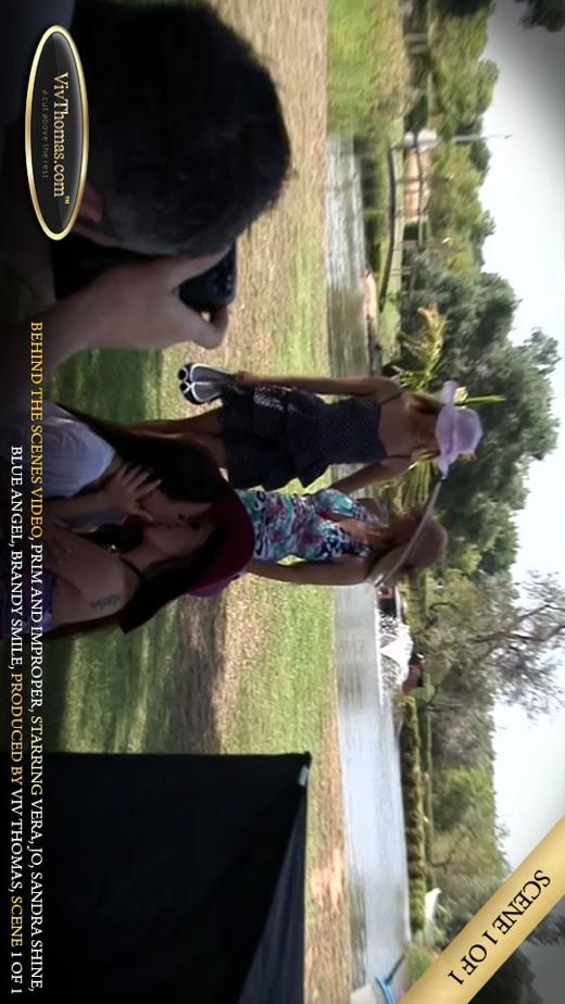 Blue Angel & Brandy Smile & Jo & Sandra Shine & Vera A - `Prim and Improper Extras 1` - by Viv Thomas for VIVTHOMAS VIDEO