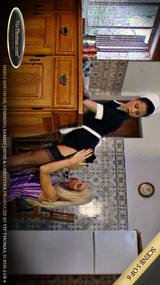 Sammy-Jayne A - `Heels & Hose 1 Part 6` - by Viv Thomas for VIVTHOMAS VIDEO