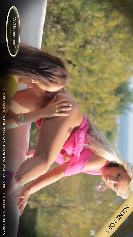 Sandra Shine & Vera A - `Simply Shine Part 2` - by Viv Thomas for VIVTHOMAS VIDEO
