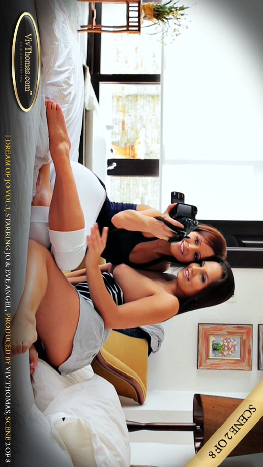 Eve Angel & Jo - `I Dream of Jo Vol1 Part 2` - by Viv Thomas for VIVTHOMAS VIDEO