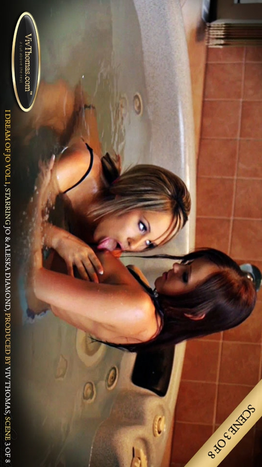 Aleska Diamond & Jo - `I Dream of Jo Vol1 Part 3` - by Viv Thomas for VIVTHOMAS VIDEO