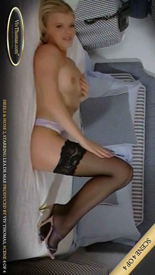 Lea De Mae - `Heels and Hose 2 Part 4` - by Viv Thomas for VIVTHOMAS VIDEO