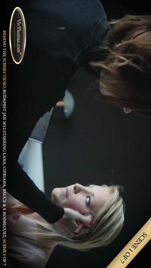 Cipriana A & Lana S & Sandra Rodriguez - `Behind The Scenes Budapest February 2012 Part 1` - by Viv Thomas for VIVTHOMAS VIDEO