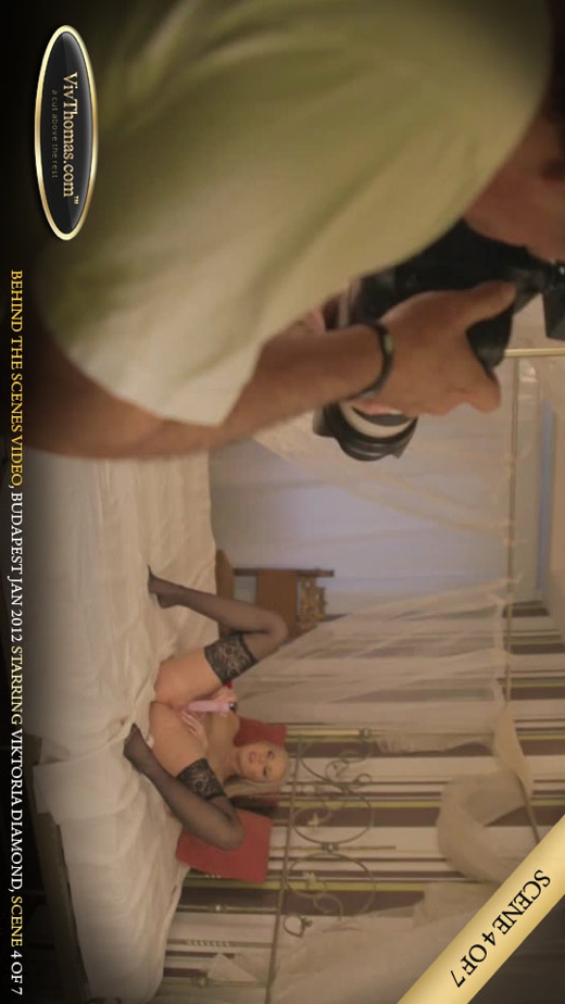 Viktoria Diamond - `Behind The Scenes Budapest February 2012 Part 4` - by Viv Thomas for VIVTHOMAS VIDEO