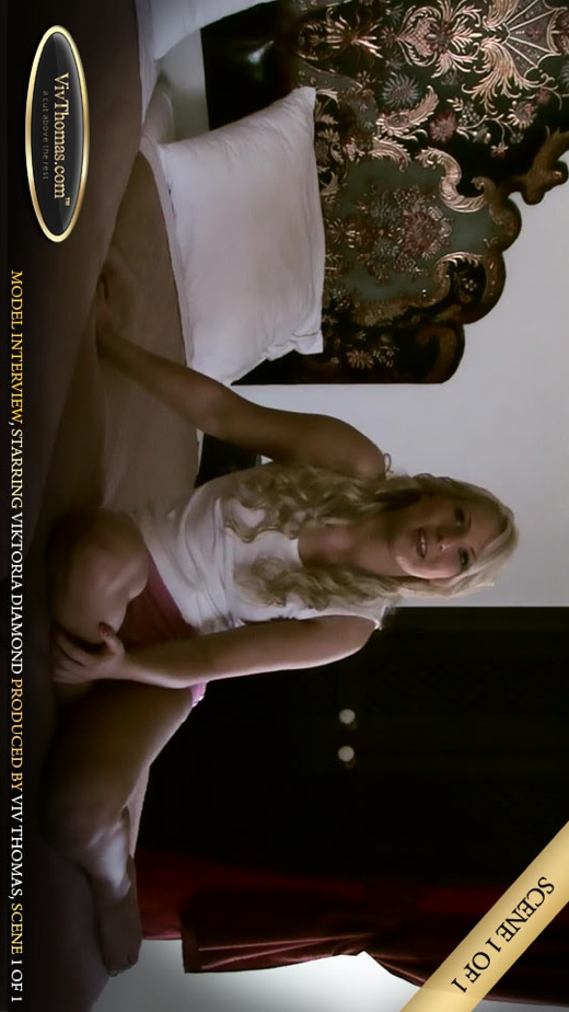 Viktoria Diamond - `Interviewing Viktoria Diamond Part 1` - by Viv Thomas for VIVTHOMAS VIDEO