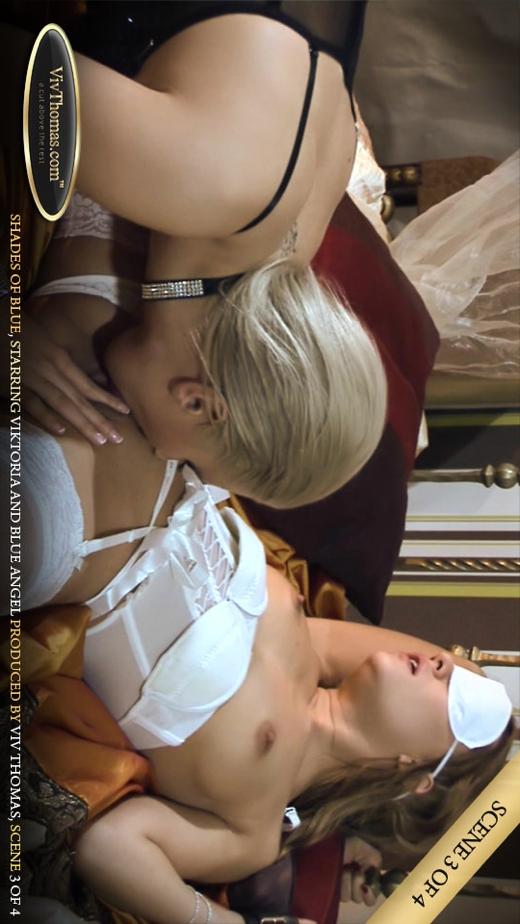 Blue Angel & Viktoria Diamond - `Shades of Blue Part 3` - by Viv Thomas for VIVTHOMAS VIDEO