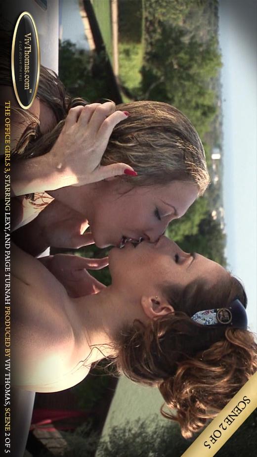 Lexi Lowe & Paige Turnah - `Office Girls 3 Part 2` - by Viv Thomas for VIVTHOMAS VIDEO