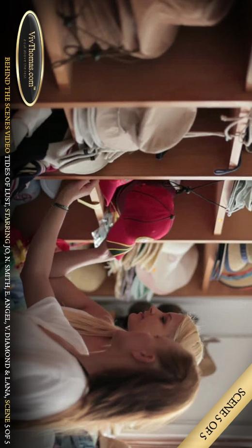 Eve Angel & Jo & Lana S & Nicole Smith & Viktoria Diamond - `Tides of Lust BTS Extras 1` - by Viv Thomas for VIVTHOMAS VIDEO